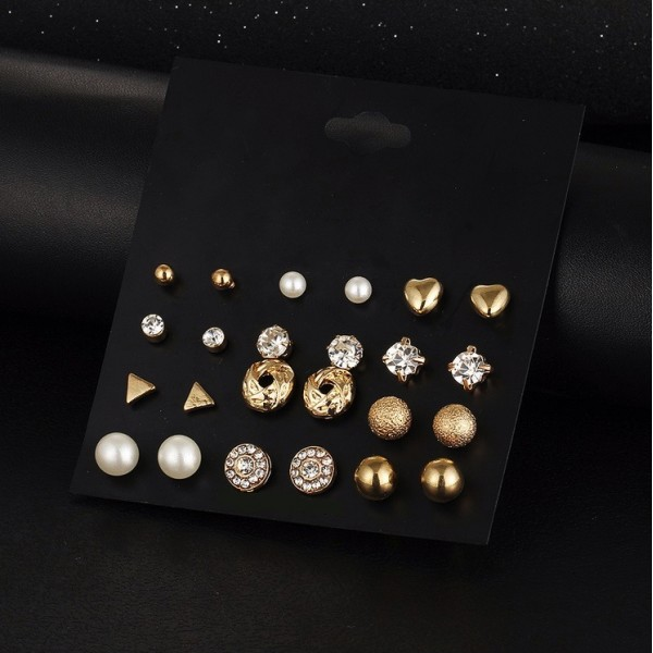 12 Piece Mini Stud Set
