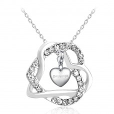 LOCKED IN HEART PENDANT INCLUDING CHOICE OF CHARM