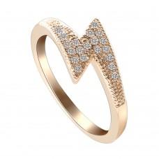 Lightening Crystal Ring