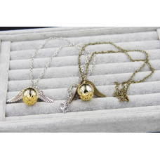 'Golden Snitch Inspired' Necklace