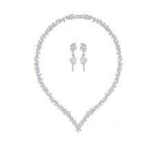 Diapason Set Made with Crystals from Swarovski®