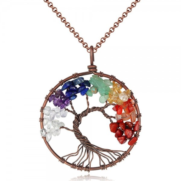 Tree Of Life Chakra Gemstones