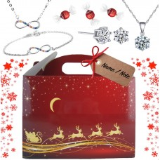 CHRISTMAS LUXURY BOX WITH GIFTS FROM SWAROVSKI® & LINDT CHOCOLATES