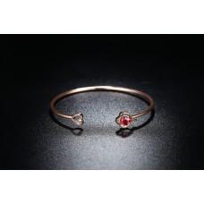 Diamond and Crystal made with Swarovski® Love Bangle