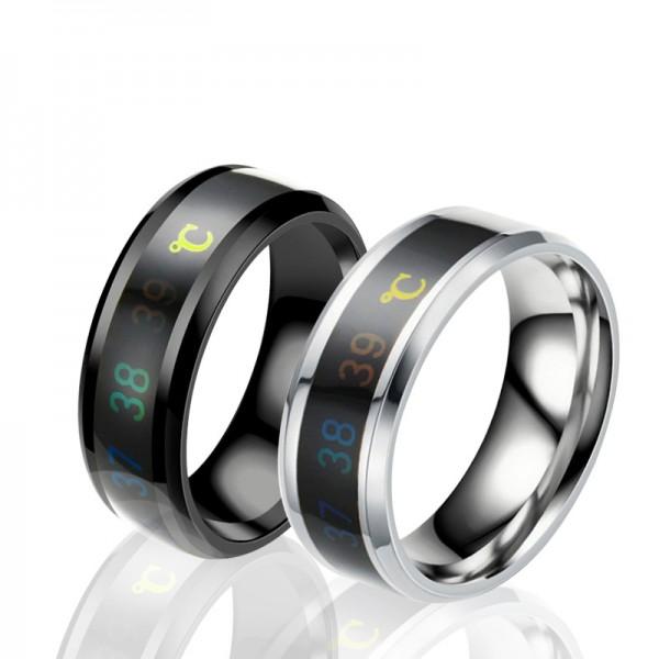 Unique temperature titanium steel sensitive ring