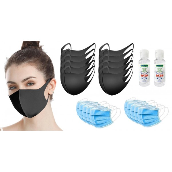 Face and Hand Protection Multipack