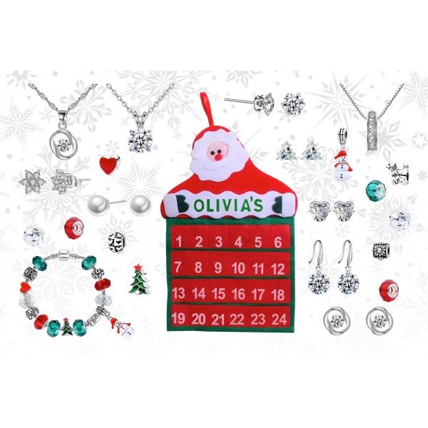 Personalised Jewellery Advent Calendar