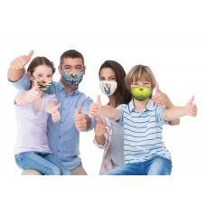 Washable Christmas Family Masks 4 Pack